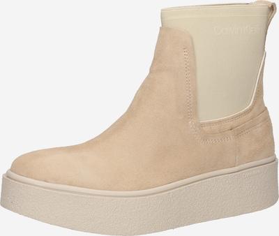 Calvin Klein Chelsea Boots 'Suede' in Cream, Item view