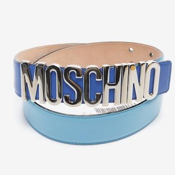 MOSCHINO Belt in S in Blue