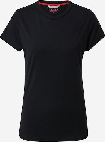 FALKETehnička sportska majica - crna boja