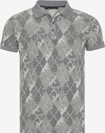 CIPO & BAXX Shirt 'Bard' in de kleur Grijs, Productweergave