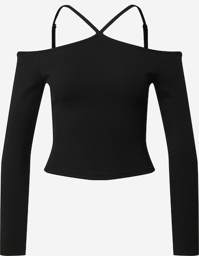 EDITED Μπλουζάκι 'Rosemary' σε μαύρο, Άποψη προϊόντος
