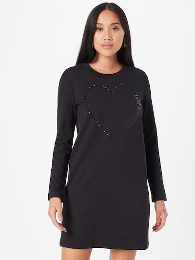 Love Moschino Kleid in schwarz, Modelansicht