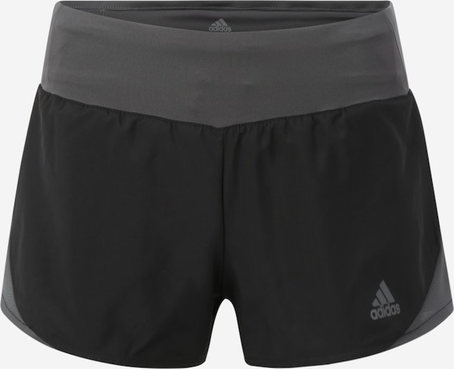 "ADIDAS PERFORMANCE Sportbroek 'RUN IT SHORT W 3""' in de kleur Zwart, Productweergave"
