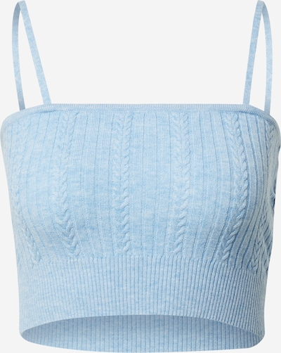 Cotton On Knitted top in mottled blue, Item view