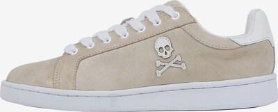 Scalpers Zemie brīvā laika apavi 'Milky Suede ', krāsa - bēšs / balts, Preces skats