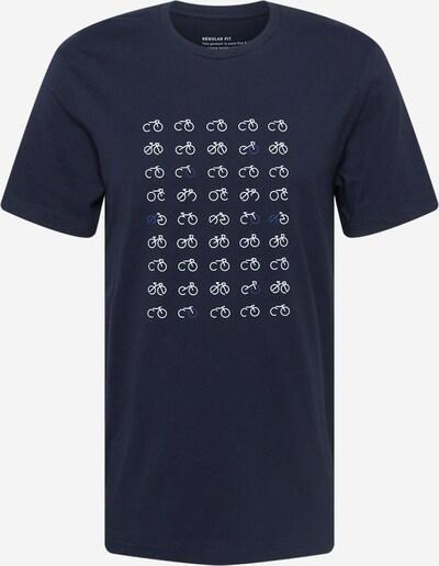 ARMEDANGELS Shirt 'JAAMES' in marine blue / Navy / White, Item view