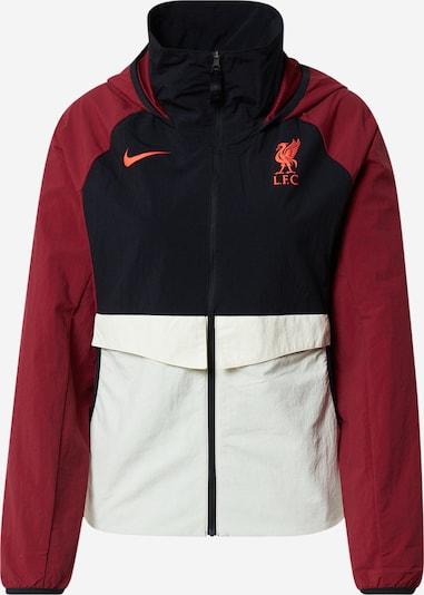 NIKE Sportjacke 'Liverpool FC' in nachtblau / blutrot / weiß, Produktansicht