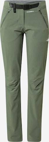 THE NORTH FACE Παντελόνι πεζοπορίας 'DIABLO' σε πράσινο