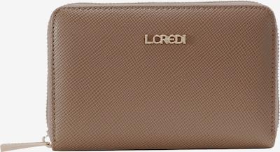 L.CREDI Geldbörse 'Ebba' in dunkelbeige, Produktansicht