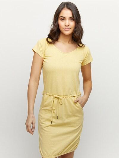 mazine Kleid 'Namu' in hellgelb, Modelansicht
