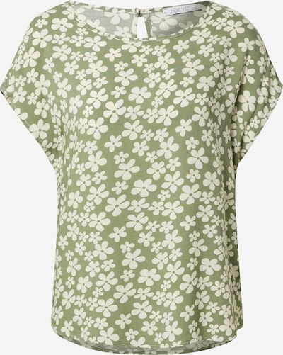 Hailys Bluzka 'Farina' w kolorze khaki / naturalna bielm, Podgląd produktu