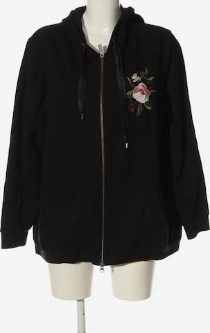 TRIANGLE Sweatshirt & Zip-Up Hoodie in 5XL in Black