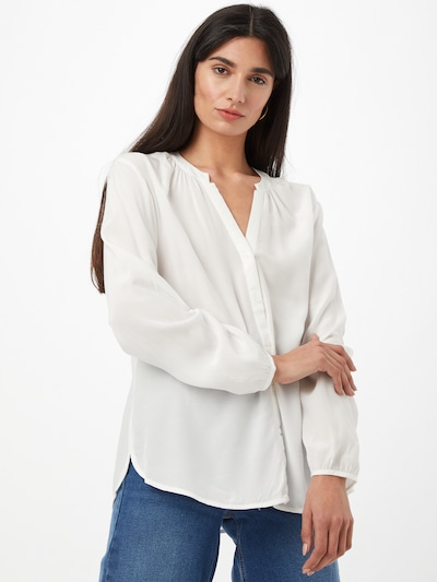 COMMA Bluse in weiß, Modelansicht