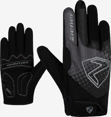 ZIENER Athletic Gloves 'COLJA' in Black