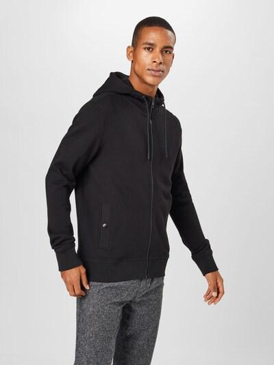 Džemperis iš BOSS , spalva - juoda: Vaizdas iš priekio