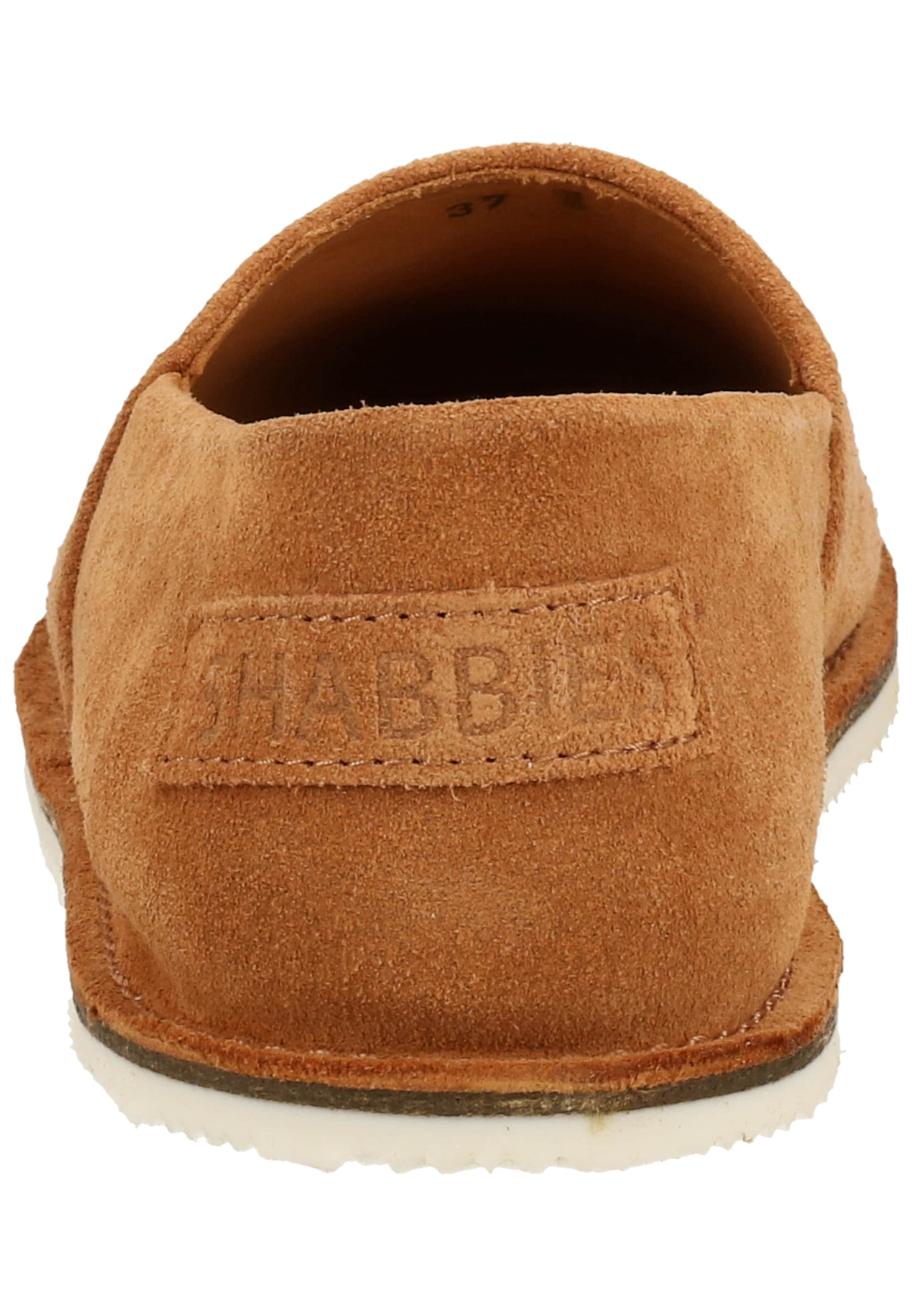 SHABBIES AMSTERDAM Slipper in braun / hellbraun