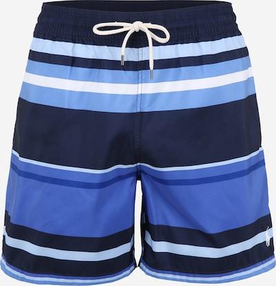 POLO RALPH LAUREN Kupaće hlače 'TRAVELER-SWIM' u plava / bijela, Pregled proizvoda