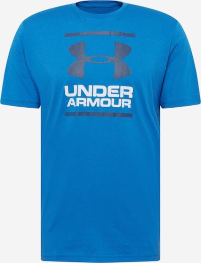 Tricou funcțional 'Foundation' UNDER ARMOUR pe albastru / negru / alb, Vizualizare produs
