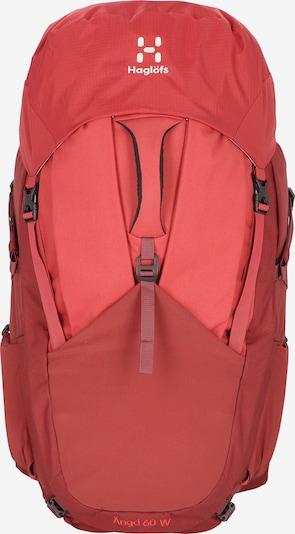 Haglöfs Sportrugzak in de kleur Rood, Productweergave