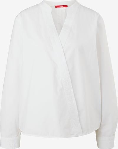 Bluză s.Oliver pe alb, Vizualizare produs