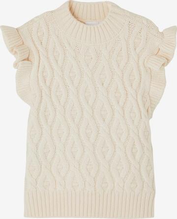 Pullover 'Framat' di NAME IT in bianco