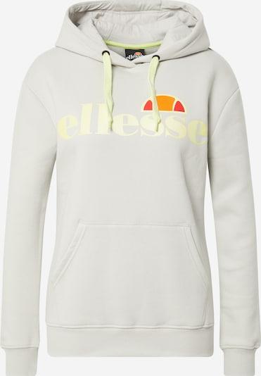 ELLESSE Sport sweatshirt 'Elce' i ljusgul / ljusgrå / orange / röd, Produktvy
