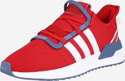 ADIDAS ORIGINALS Sneaker in taubenblau / rot / weiß, Produktansicht