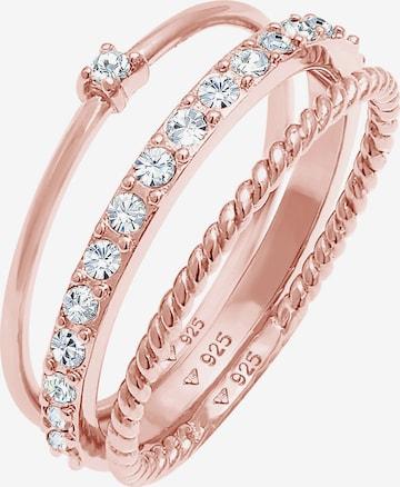 Parure de bijoux ELLI en rose