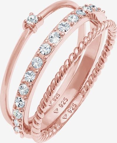 ELLI Parure de bijoux en or rose, Vue avec produit