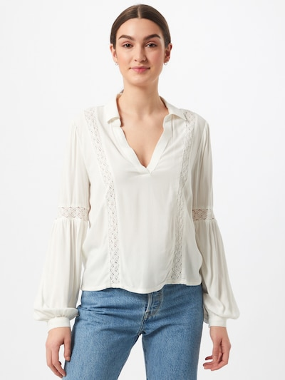 Tunica 'DELHI' JACQUELINE de YONG pe offwhite, Vizualizare model