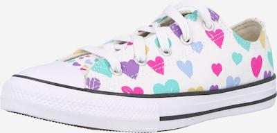 Sneaker CONVERSE pe verde stuf / verde jad / mov închis / roz neon / alb, Vizualizare produs