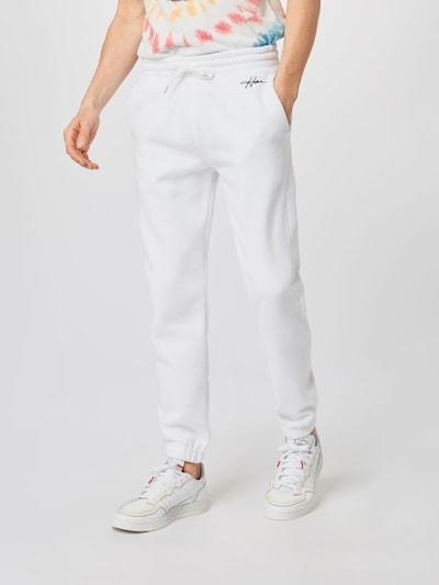 HOLLISTER Pantalon en blanc, Vue avec modèle