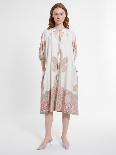Ana Alcazar Kleid in braun / rot / weiß, Modelansicht