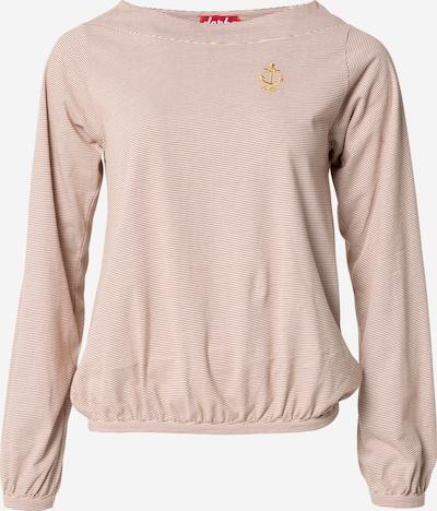 Derbe Shirt 'Anna Anchor' in Light brown / White, Item view