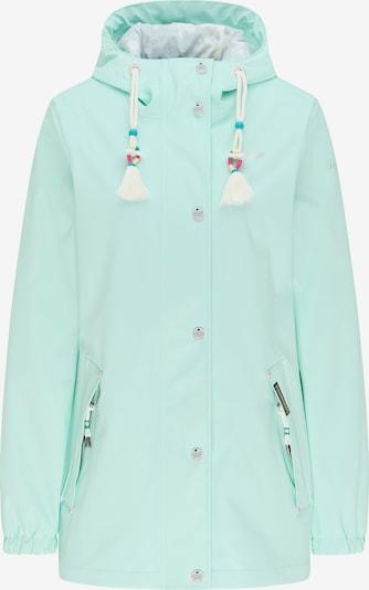 Schmuddelwedda Regenjacke in mint, Produktansicht