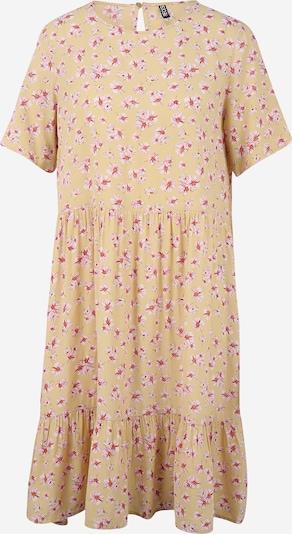 Pieces Tall Košilové šaty 'MILLER' - velbloudí / zlatě žlutá / antracitová / orchidej / bílá, Produkt