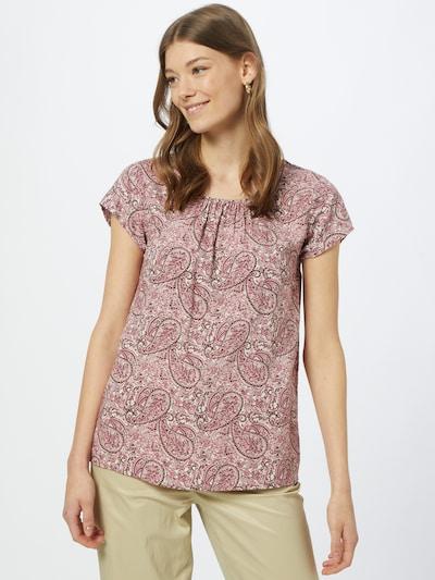 Soyaconcept Bluse 'ODELIA' in pink / schwarz / weiß, Modelansicht