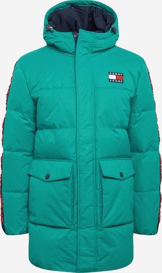 Tommy Jeans Zimní parka - námořnická modř / nefritová / červená, Produkt