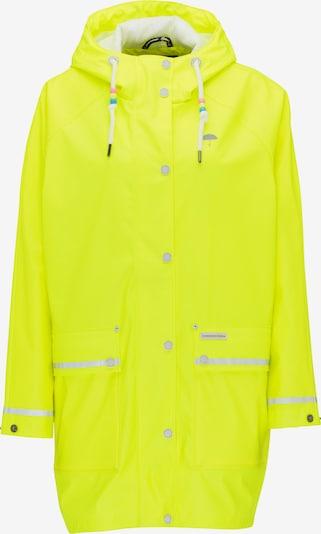 Schmuddelwedda Functionele jas in de kleur Neongeel, Productweergave