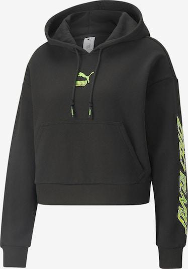 PUMA Sweatshirt in Neon green / Black, Item view