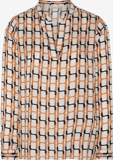 ETERNA Bluse in beige / orange / schwarz / weiß, Produktansicht