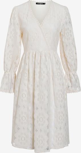 Ana Alcazar Robe ' Danice ' en blanc naturel, Vue avec produit
