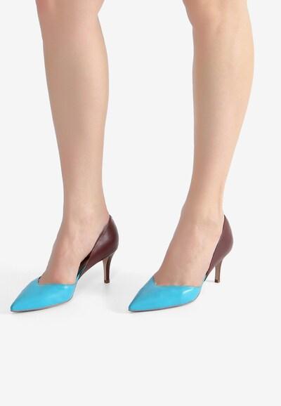 Ekonika Schuhe aus echtem Leder in mischfarben: Frontalansicht