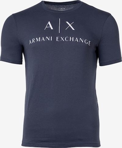 Emporio Armani Shirt in de kleur Marine / Wit, Productweergave