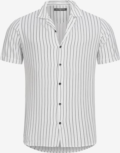 Redbridge Hemd 'Overland Park' in schwarz / weiß, Produktansicht