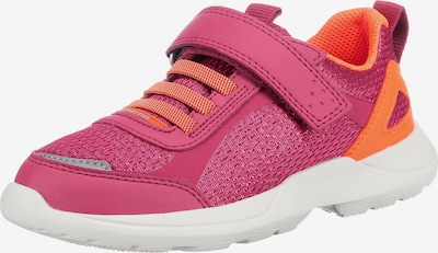 SUPERFIT Trainers 'Rush' in Light grey / Orange / Cranberry, Item view