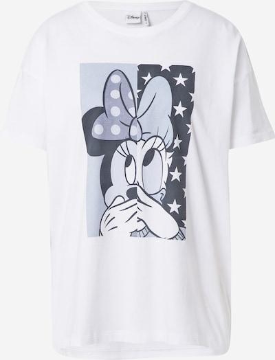 ONLY Majica 'DISNEY' u mornarsko plava / sivkasto plava / svijetloplava / bijela, Pregled proizvoda