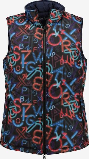 Ulla Popken Bodywarmer in de kleur Marine / Gemengde kleuren, Productweergave