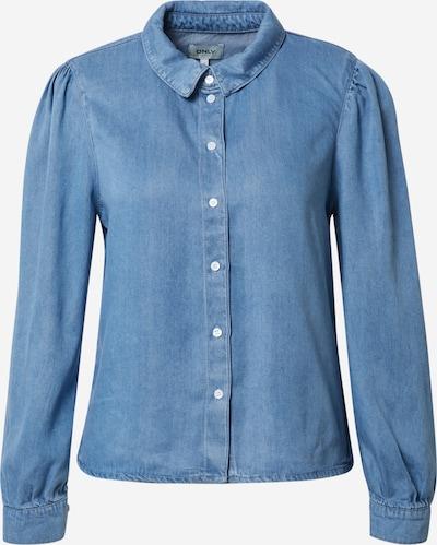 ONLY Bluse 'ONLBILLIE' i blue denim, Produktvisning