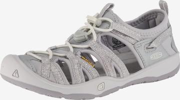 KEEN Sandale in Silber